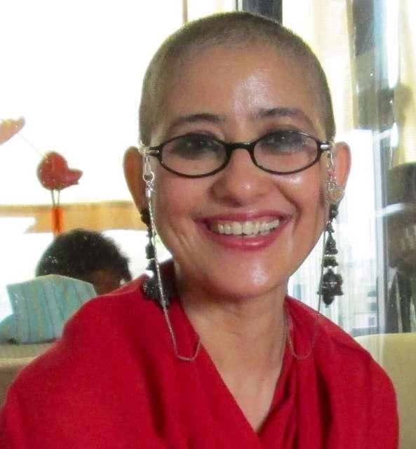 India Tv - Manisha Koirala during cancer days