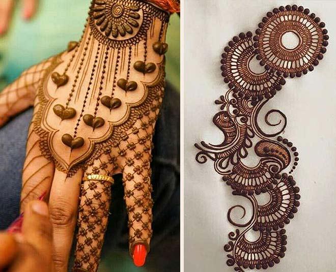 India Tv - Best Henna Designs for Hariyali Teej 2019