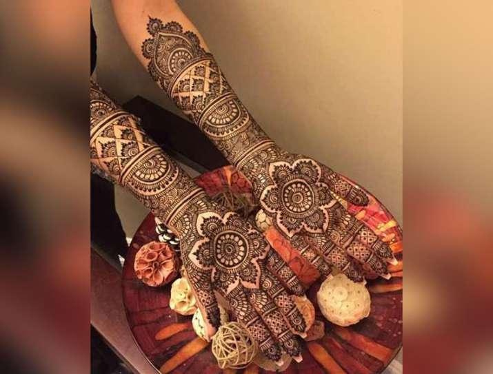 India Tv - Hariyali Teej 2019: Best Mehendi latest designs for Teej