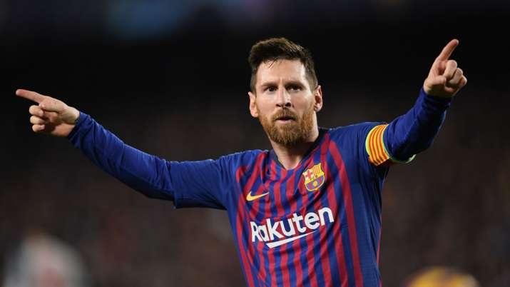 Lionel Messi pips Cristiano Ronaldo to win UEFA's Goal of the Season award