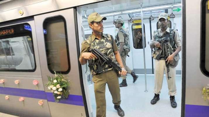 High alert on Delhi Metro in wake of Kashmir developments