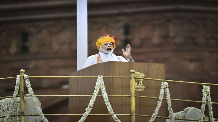 PM Modi says wealth creators should not be eyed with