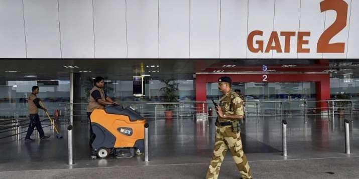 Delhi airport bomb scare