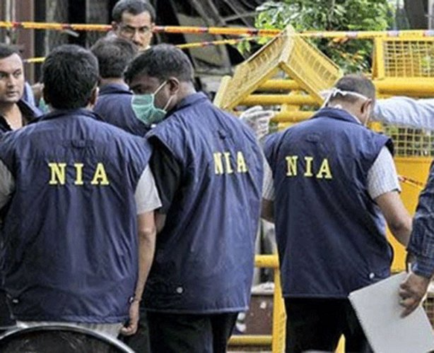 Five teams of the NIA were carrying out the raids. So far