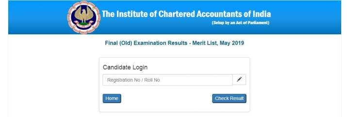 India Tv - ICAI CA Result 2019: CA Final, Foundation Result Released at icai.org All you need to know