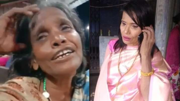 Ranu Mondal whose video singing Ek Pyaar Ka Nagma Hai went viral looks unrecognizable after makeover