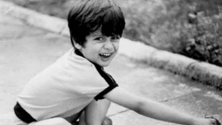 India Tv - Shahid Kapoor's childhood picture
