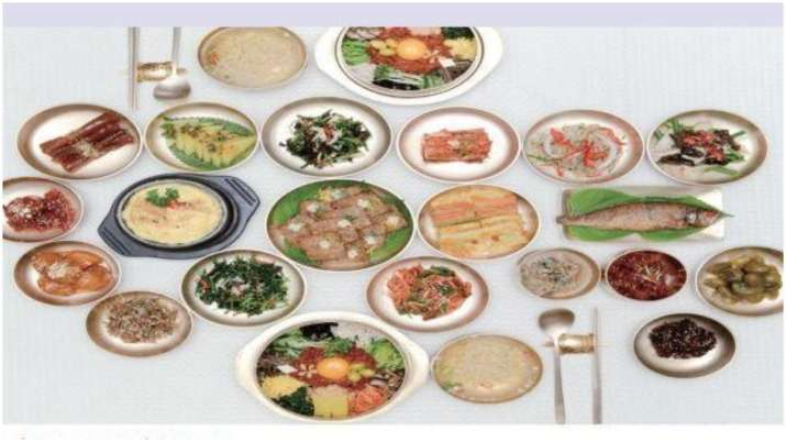 South Korean cuisine inspired by its topography, culture
