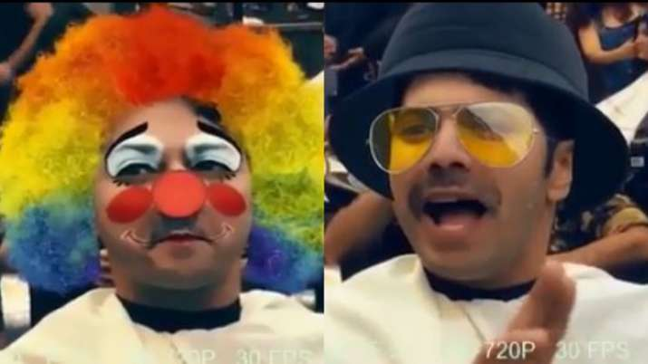 Varun Dhawan's hilarious video of getting ready for Coolie No. 1 look will leave you in splits