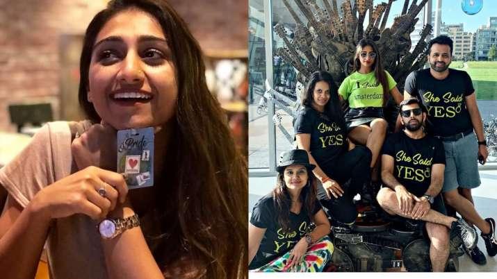 Yeh Rishta Kya Kehlata Hai actress Mohena Kumari Singhi's bachelorette photos from Amsterdam