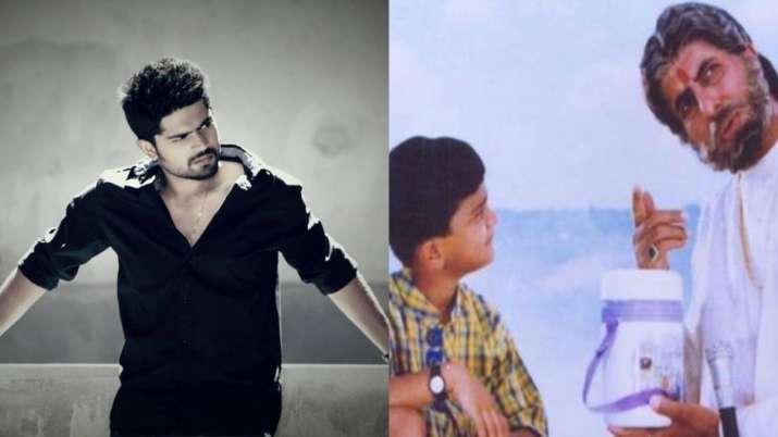 Amitabh Bachchan S Grandson Ananda Vardhan In Sooryavansham Has Grown Up Into Handsome Telugu Actor Celebrities News India Tv