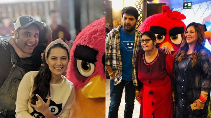 Kapil Sharma attends Angry Birds 2 movie screening with