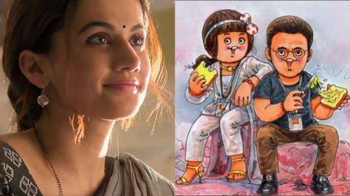 Taapsee Pannu compliments 'Mission Makhan'