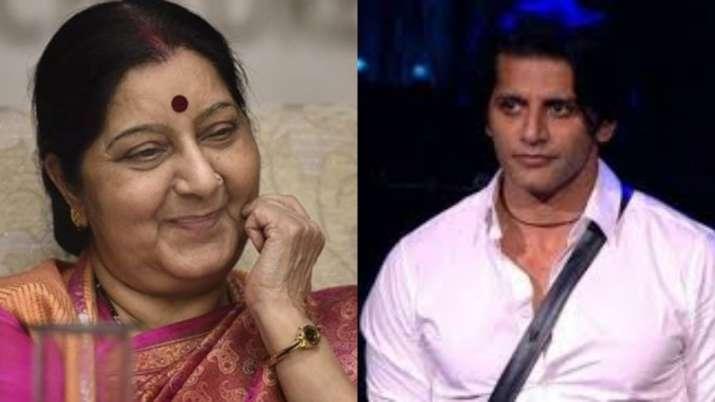 Sushma Swaraj death: Karanvir Bohra, Nia Sharma and other TV stars deeply saddened