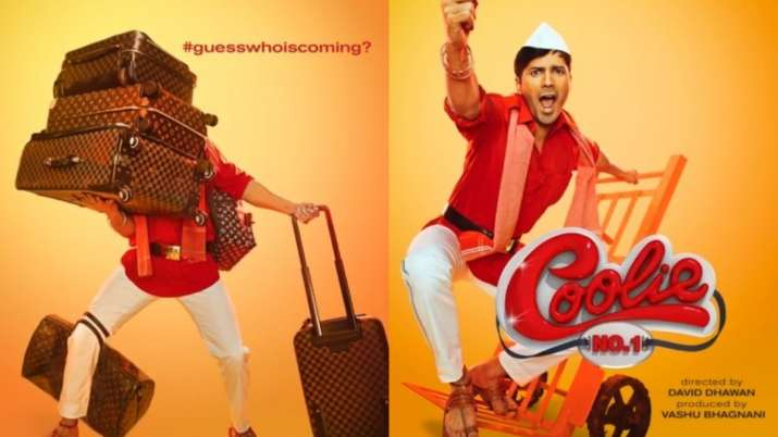 Coolie No. 1 First Posters: Varun Dhawan, Sara Ali Khan will leave you excited and wanting for more
