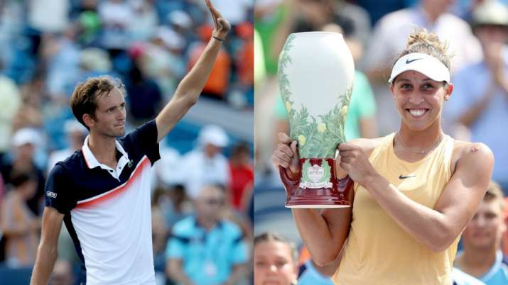 Cincinnati Masters: Daniil Medvedev, Madison Keys crowned champions