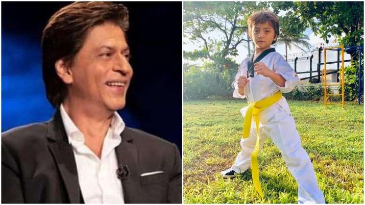 Shah Rukh Khan's son AbRam keeps up with 'family tradition' of Taekwondo