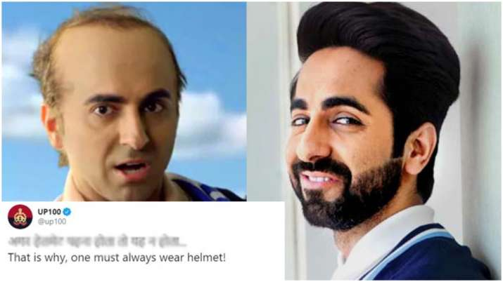 Ayushmann Khurrana's Bala teaser: UP Police's humorous take