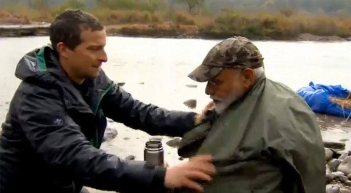 India Tv - PM Modi on Man vs Wild Show: How, When and Where to watch PM Narendra Modi on Bear Grylls' show