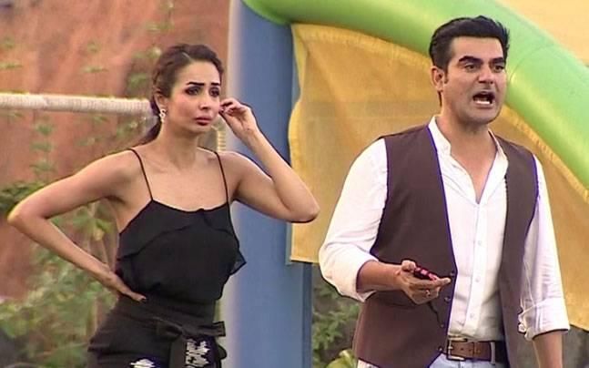 India Tv - Arbaaz and Malaika on Power Couple.