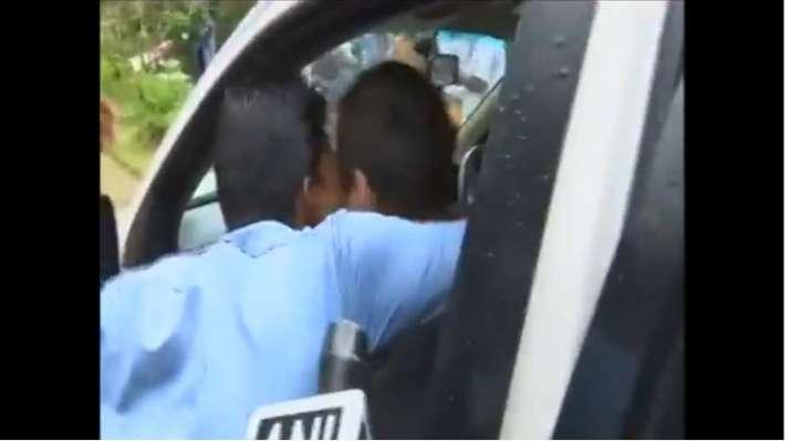 Rahul Gandhi gets kissed by man during Wayanad visit