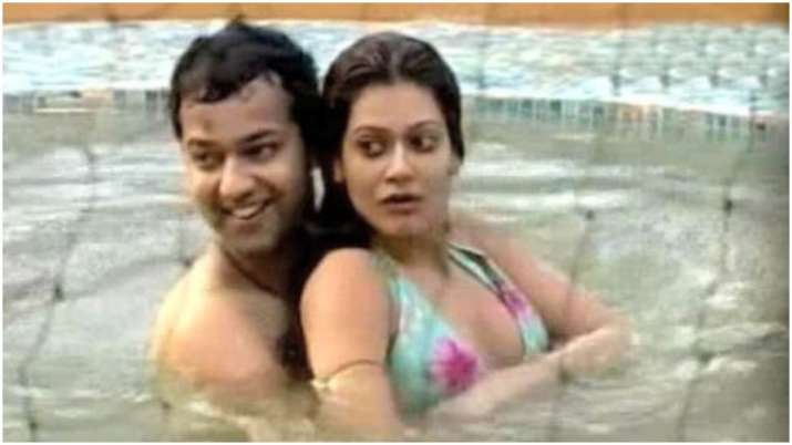 India Tv - Rahul Mahajan and Payal Rohatgi