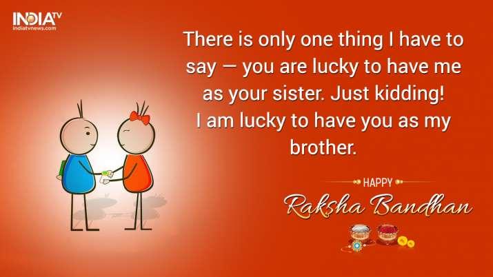 India Tv - Happy Raksha Bandhan Images & Wallpaper Free Download, Quotes, SMS, Wishes to Celebrate