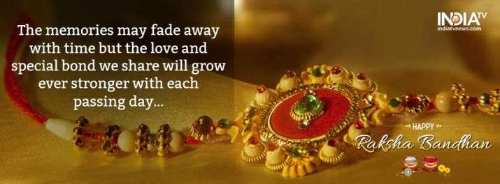 India Tv - Happy Raksha Bandhan images for facebook cover photo