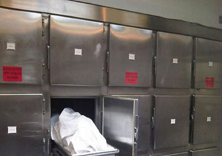 Clip shows bodies of teenagers kept in rock salt at morgue