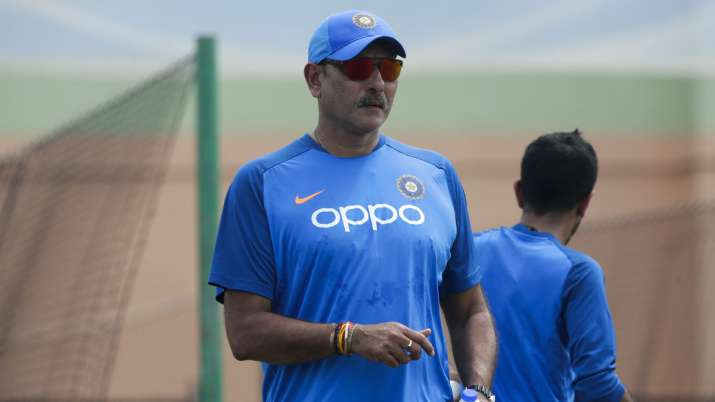 India Tv - Ravi Shastri took over as India's coach in 2017 after the Champions Trophy