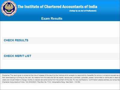 ICAI CA Final, CA Foundation Result 2019: Direct Link | Exam