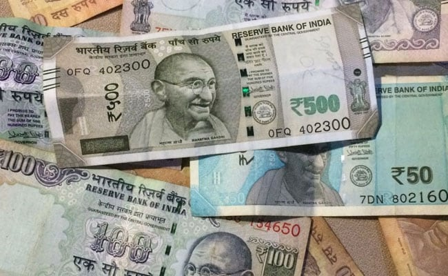 At the interbank foreign exchange, the rupee opened at