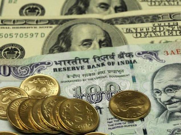 Rupee falls 38 paise
