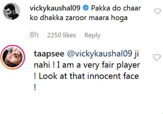 India Tv - Vicky Kaushal takes a dig at Taapsee Pannu