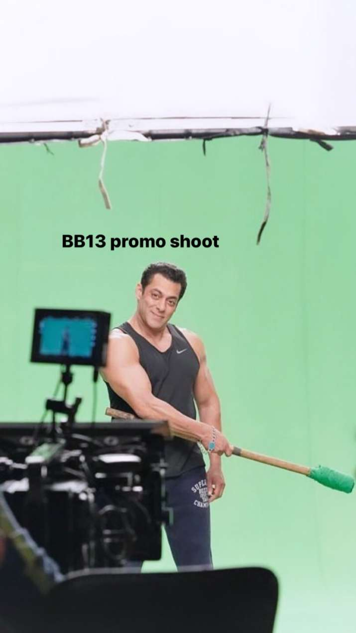 India Tv - Salman Khan shares first look from reality show Bigg Boss 13
