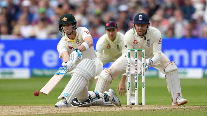 India Tv - Steve Smith hit 16 fours and 2 sixes in his 144 run-knock