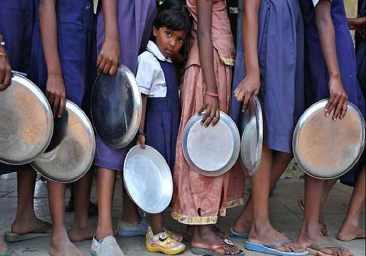 Madhya Pradesh students forced to wash utensils with dirty water