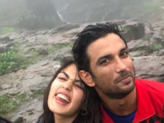 India Tv - Sushant Singh Rajput and Rhea Chakraborty