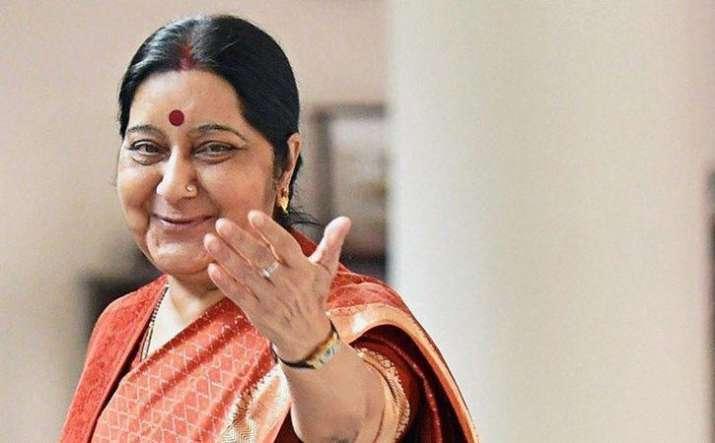 """The last tweet of Sushma Swaraj was: """"Narendra Modi ji -"""