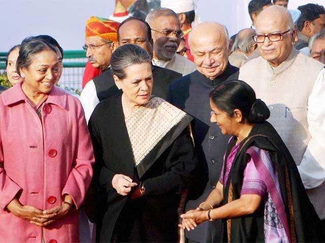Image result for sonia gandhi and sushma swaraj