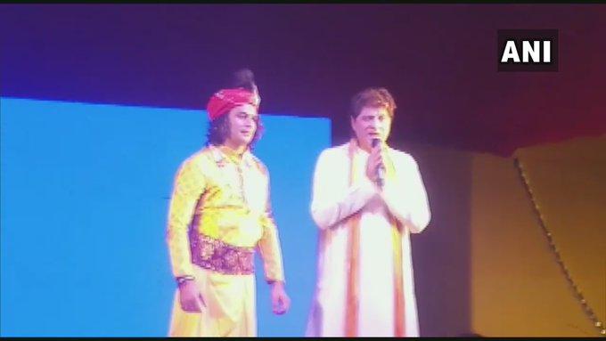 In 2017, Tej Pratap had dressed up as Lord Krishna to
