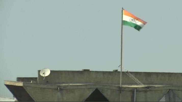 Jammu and Kashmir flag removed from secretariat