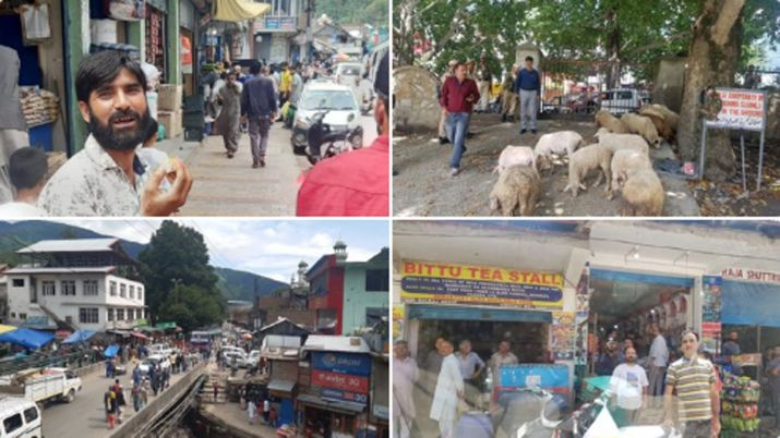 Jammu and Kashmir returning to normal