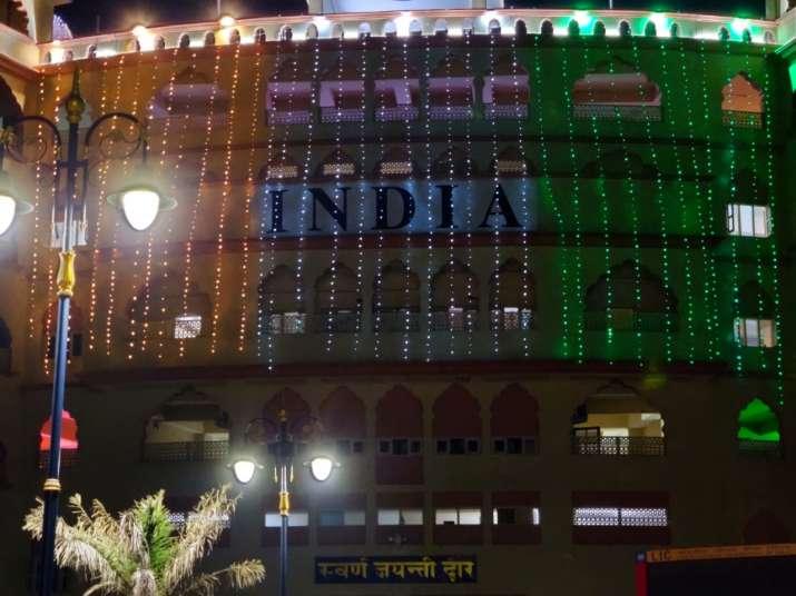 India Tv - Independence day at Wagah border