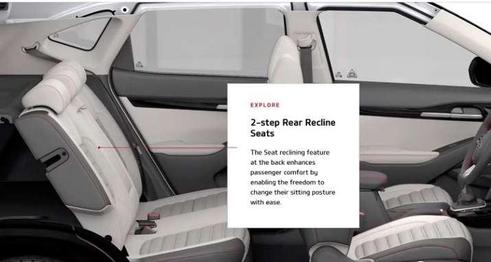 India Tv - KIA Seltos Interiors:Rear Recliner Seats / Ventilated front seats