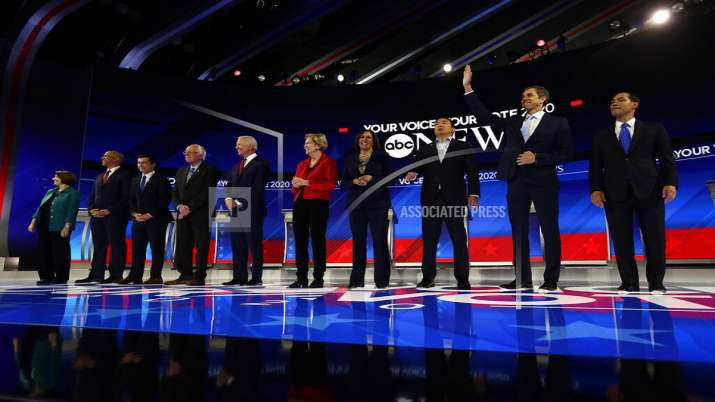 US Elections 2020: Biden parries attacks from rivals in