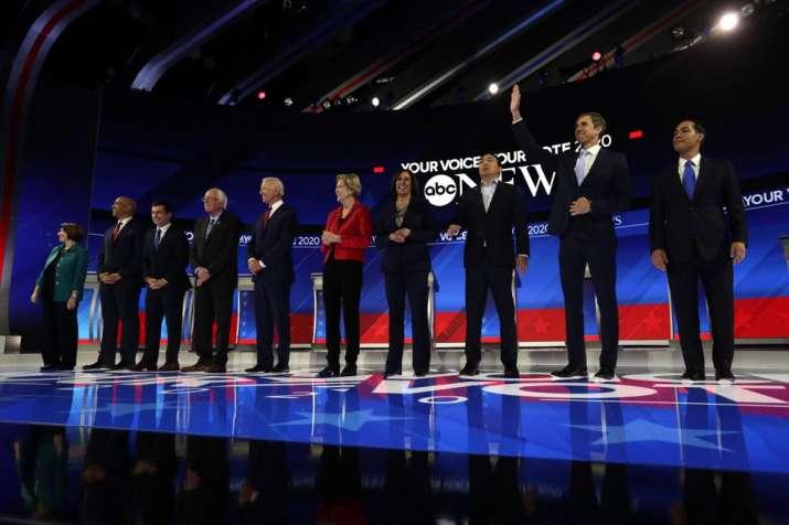 US Elections 2020: Democratic debate live; top contenders
