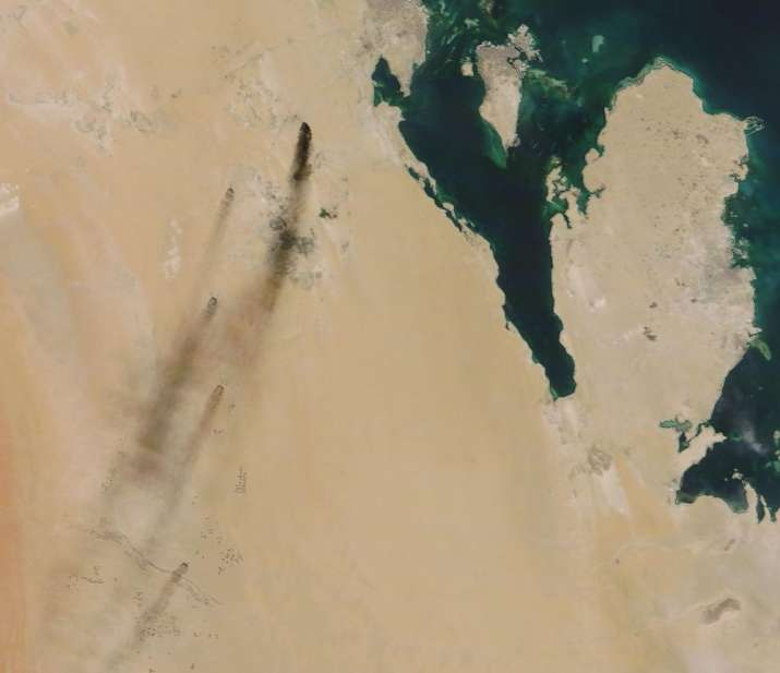 India Tv - Saudi Arabia: Drone attacks knocked out half its oil supply