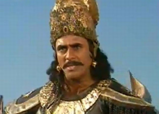 India Tv - Puneet Issar as Duryodhana in B R Chopra's Mahabharat