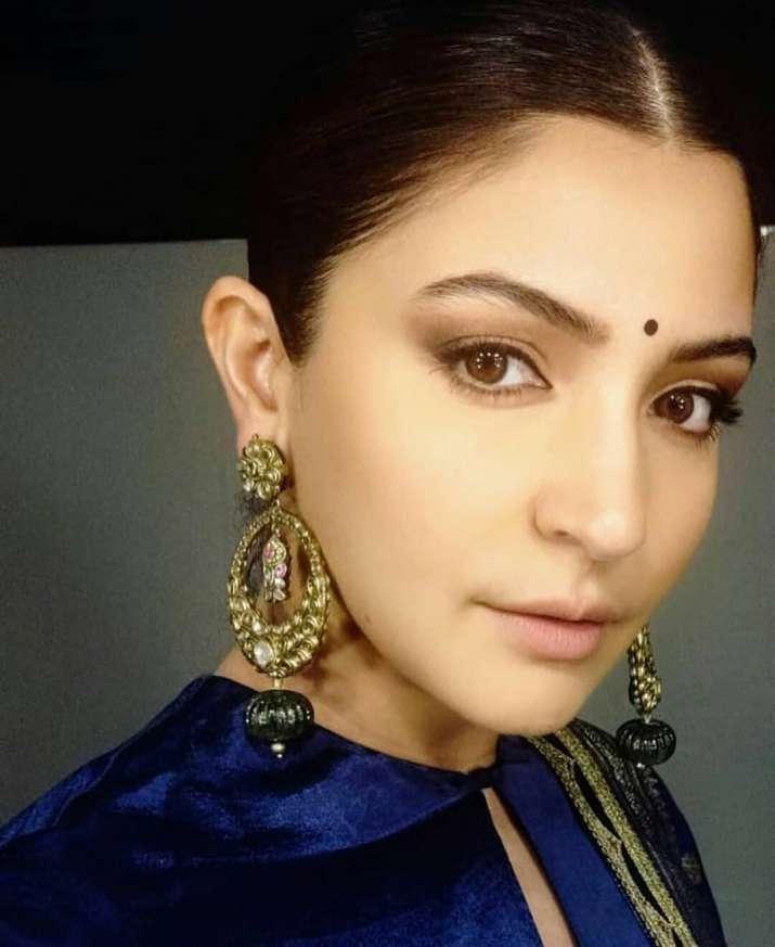 India Tv - Anushka Sharma in Sabyasachi jewelry